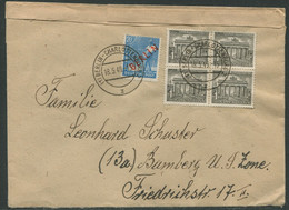 5729) MiNr.:  26 U. 42 MischF -  Charlottenburg - Briefe U. Dokumente