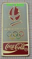 COCA JO ALBERTVILLE 92 1992 En Version EPOXY PREMIER TAIWAN - Coca-Cola