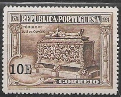 Portugal Mint Very Very Low Hinge Trace * 1924 (15 Euros) - Unused Stamps