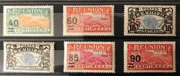 REUNION 1922 - NEUF * / MH - Série Complète YT 97 / 102 - LUXE _ CV 11,50 EUR - Ungebraucht