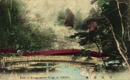 RIEW OF TINKGO SACRED BRIDGE OF NIKKO    JAPAN JAPON - Tokyo