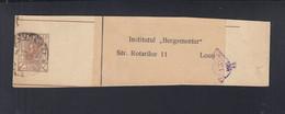 Rumänien Romania Streifband Stempel Posthorn Goarna - Briefe U. Dokumente