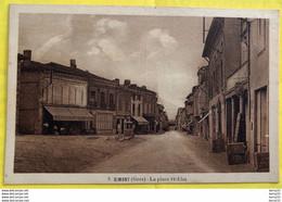 GIMONT (Gers) - La Place St-Éloi - Boulangerie Boucherie LACAN - Otros Municipios