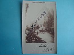 52 - WASSY - Carte Photo - Mi-carême 1904 - Wassy
