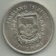 50 Pence 1977 Ilhas Falkland - Falkland Islands