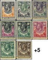 Ref. 601551 * HINGED * - NORTH RHODESIA. 1925. KING GEORGE V . REY JORGE V - Nordrhodesien (...-1963)