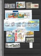 2002 MNH Denmark, Dänemark, Year Complete, Postfris - Annate Complete