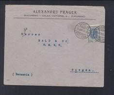 Rumänien Romania Brief 1906 Bucuresti Nach Siegen - Briefe U. Dokumente