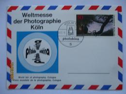 Foto Fotografie Photokina Köln 1976 Sonderkarte (14122) - Fotografía