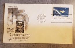 FLORIDA CAPE CANAVERAL FDC 1962 SPACE COMMEMORATING JHON.H. GLENN,JR.. - Otros - América