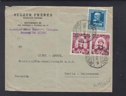 Rumänien Romania Brief 1940 Bucuresti Nach Berlin - Briefe U. Dokumente