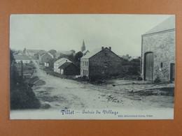 Tillet Entrée Du Village - Sainte-Ode