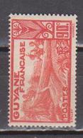 GUYANE   N°  YVERT  :    123  NEUF AVEC  CHARNIERES      ( CH   3 / 29 ) - Unused Stamps