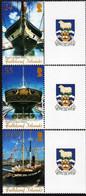 Falkland Islands 2006, Restoration Of SS Great Britain, MNH Stamps Set - Neufs
