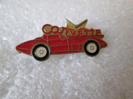 PIN'S   CHEVROLET  CORVETTE - Corvette