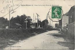 SAINT DIZIER Poste Saxby De La Route De Bettancourt.Train. Voie Ferrée - Saint Dizier