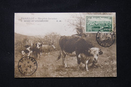FRANCE - Carte Maximum En  1941 - Vaches Dans Un Pré - L 89507 - 1940-49