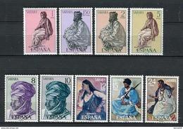 Sahara 1972. Edifil 297-305 ** MNH. - Sahara Español