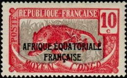 MOYEN CONGO - Leopard (Panthera Pardus) - Ungebraucht