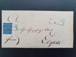 Brief Oldenburg 1859-1861 Met Mi 6a, Ein Groschen. - Oldenburg