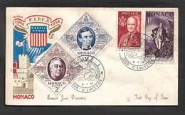 Monaco FDC, Présidents Des Etats-Unis - FDC
