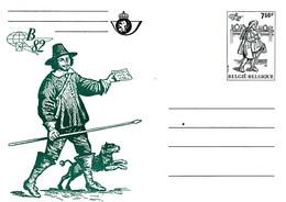 B01-347 Carte Entier Postal CA BK 30 - Belgica 1982 - Verte - Tarjetas Ilustradas