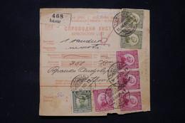 YOUGOSLAVIE - Mandat En Recommandé De Vukovar En 1922 - L 89519 - Briefe U. Dokumente