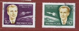 Timbre Hongrie Avion  N° PA 243 - PA 244 - Gebraucht