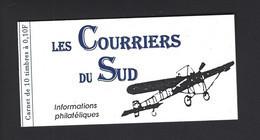 CARNET PRIVE MARIANNE DE BRIAT LES COURRIERS DU SUD THEME AVIATION - Autres