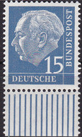 BRD 1954,  184 X,  MNH **,  Theodor Heuss (I). - Unused Stamps