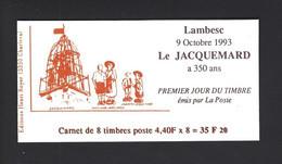 CARNET PRIVE LA JACQUEMARD LAMBESC 1993 - Autres