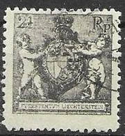 Liechtenstein VFU 1921 20 Euros - Used Stamps