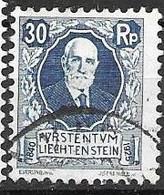 Liechtenstein VFU 1925 8 Euros - Used Stamps