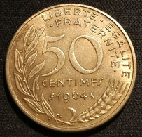 FRANCE - 50 CENTIMES 1964 - Marianne - Lagriffoul - Gad 427 - KM 939.2 - G. 50 Centimes