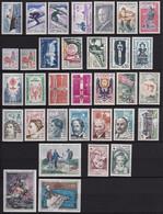 FRANCE 1962 YT 1325-1367 ** - 1960-1969