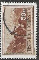 Liechtenstein VFU Set 1934 UPU 24 Euros - Used Stamps