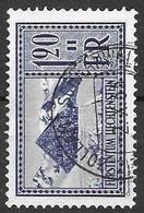 Liechtenstein VFU Set 1934 36 Euros - Used Stamps