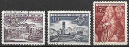 Liechtenstein VFU 1949 Set 28 Euros - Used Stamps