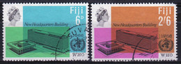 Fiji 1966 Set Of Stamps To Celebrate W.H.O. - Fiji (...-1970)