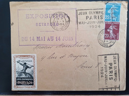 Jeux Olympiques 1924 Paris. - Estate 1924: Paris