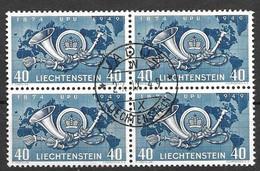 Liechtenstein VFU 1949 UPU 28 Euros + - Used Stamps