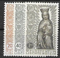 Liechtenstein Mnh ** Madonna Set 1954 58 Euros - Unused Stamps