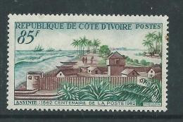 Côte D'Ivoire N° 206  X  Centenaire De La Posted'Assinie, Trace De  Charnière Sinon TB - Costa De Marfil (1960-...)
