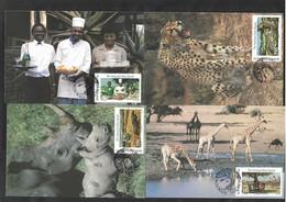 Bophuthatswana FDC, Parcs Nationaux - Bophuthatswana
