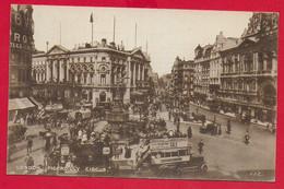 CARTOLINA NV REGNO UNITO - LONDON - Piccadilly Circus - Ed. J.J. Corbyn - 9 X 14 - Piccadilly Circus