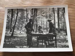 Photos D'officiers Ligne Maginot Mai 1940 Avec Noms Peut être 156 Sur Patte De Col 9x6,5 Cm - 1939-45