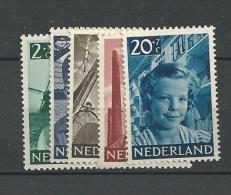 1951 MNH  Nederland, Niederlande, Netherlands, Pays-Bas,  Postfris - Unused Stamps