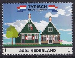 Nederland - Typisch Nederlands 2021 - 22 Februari 2021 - Houten Huizen Waterland/Zaanstreek  - MNH - Nuevos