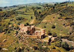Vallee De La Sioule Chateau Feodal De CHOUVIGNY Ancien Fief La Famille Lafayette Vue Aerienne 3(scan Recto-verso) MA287 - Altri Comuni