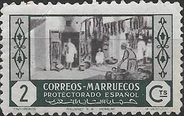 SPANISH MOROCCO 1946 Craftsmen - 2c - Dyers MH - Spanish Morocco